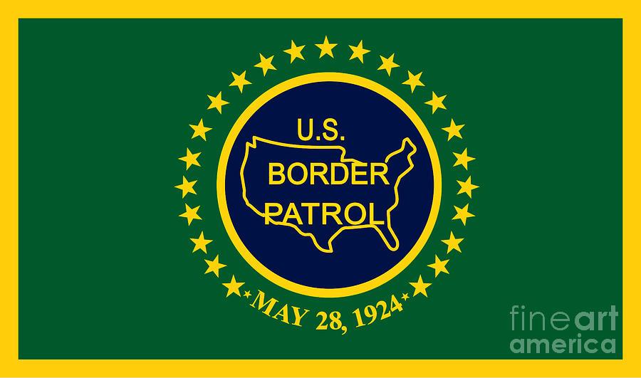 United States Border Patrol Flag.