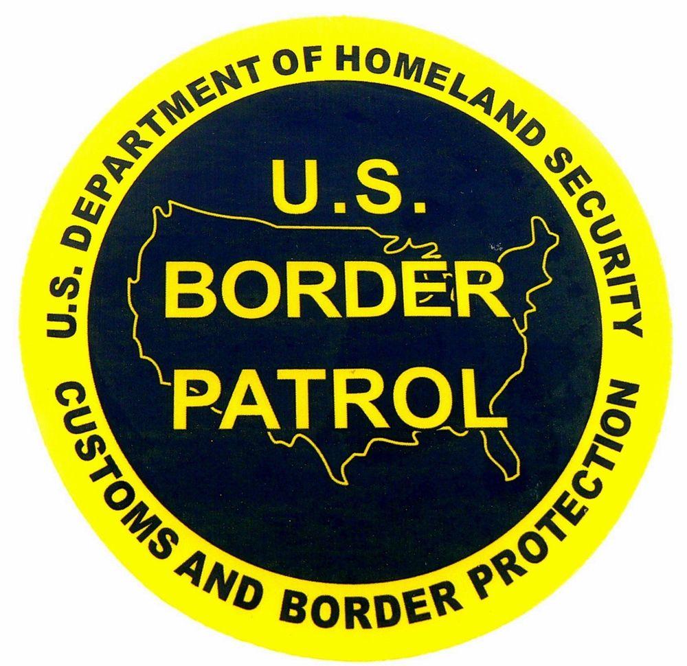 Border patrol Logos.