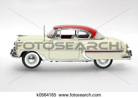 Stock Image of 1953 classic US car k0564165.