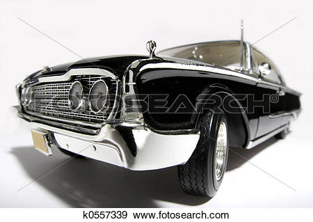 Stock Photograph of 1960 classic US car k0557339.