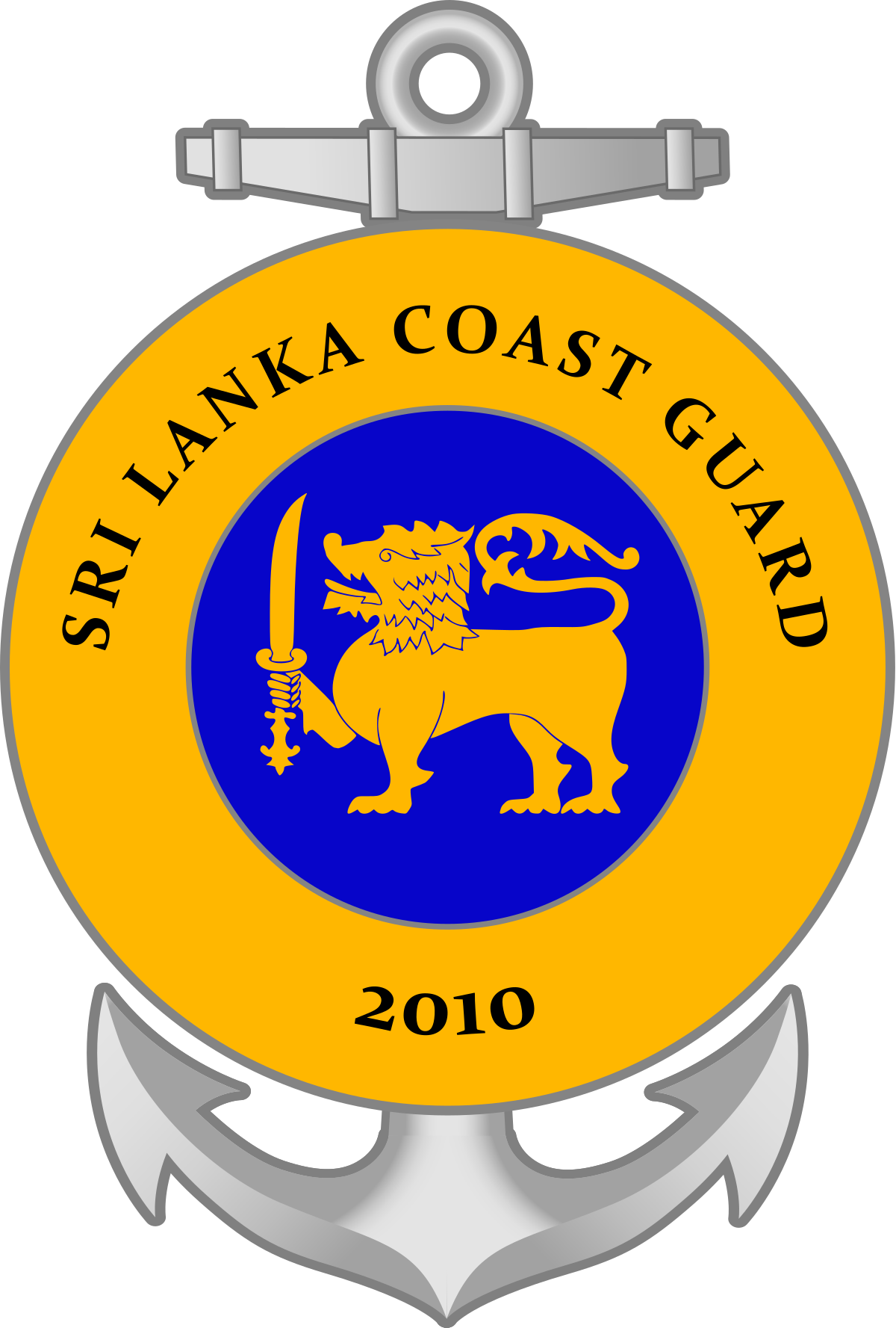 Sri Lanka Coast Guard.