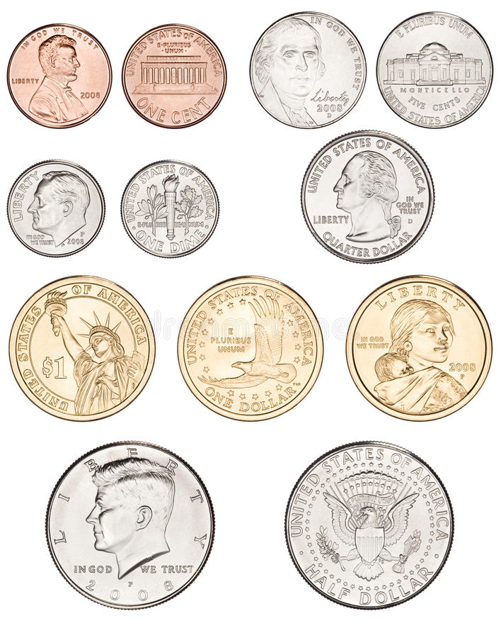 Nickel clipart american coin.