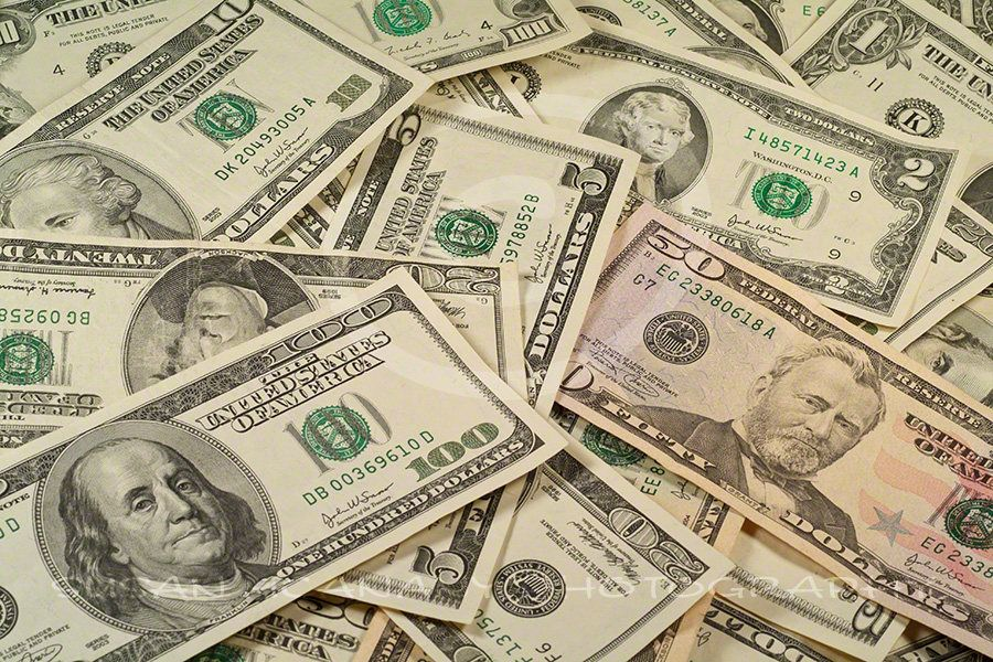 Photo of MONEY, US Currency Photograph, DOLLAR Bill Clipart.