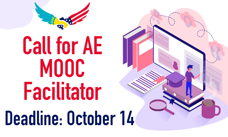 Call for AE MOOC Facilitator.