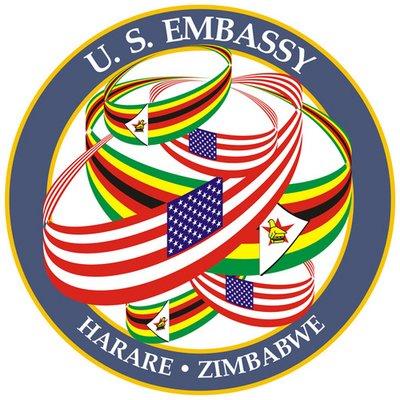 U.S. Embassy Harare (@usembassyharare).