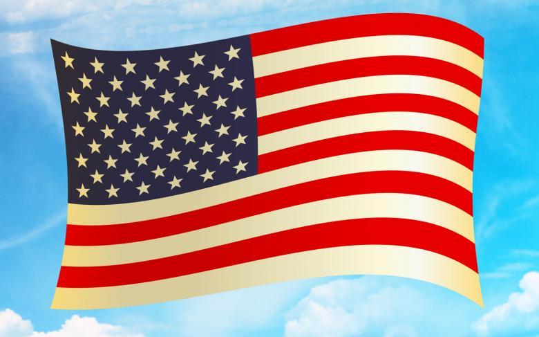 American Flag Clipart.