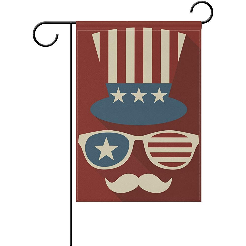 Amazon.com : SmallGardenflagMim Uncle Sam American Flag.