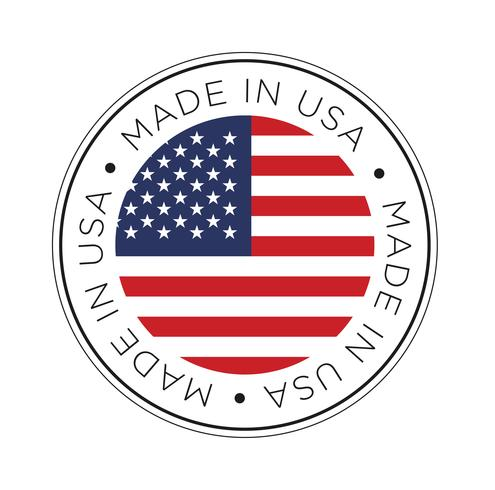 Made in USA flag icon..