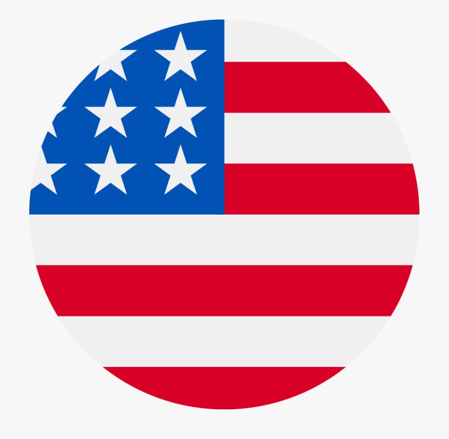 Usa Flag Png Circle.