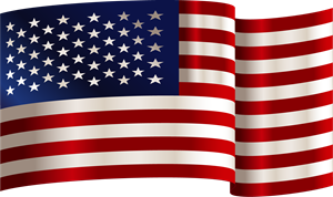 USA Flag Logo Vector (.AI) Free Download.