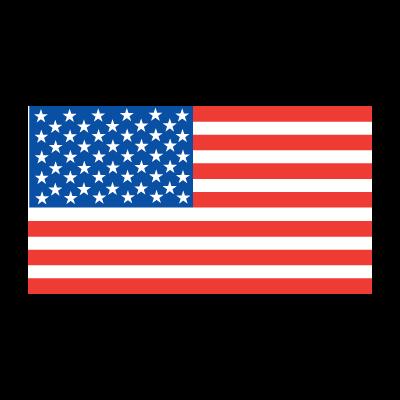 American Flag vector free.