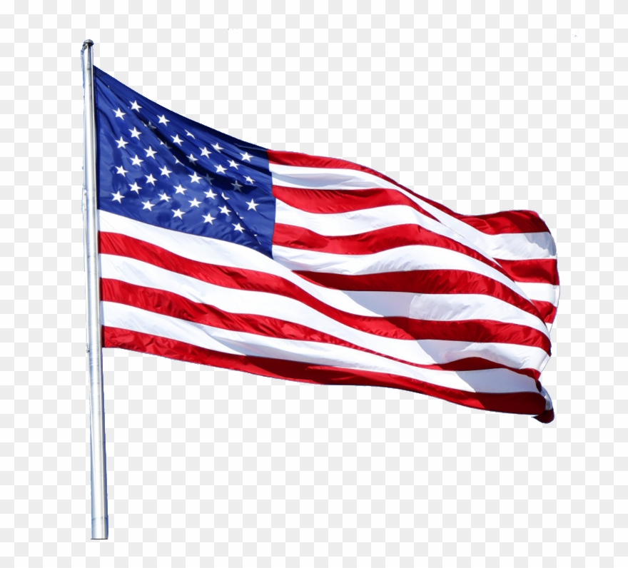 Usa Flag Png Clipart (#4226374).