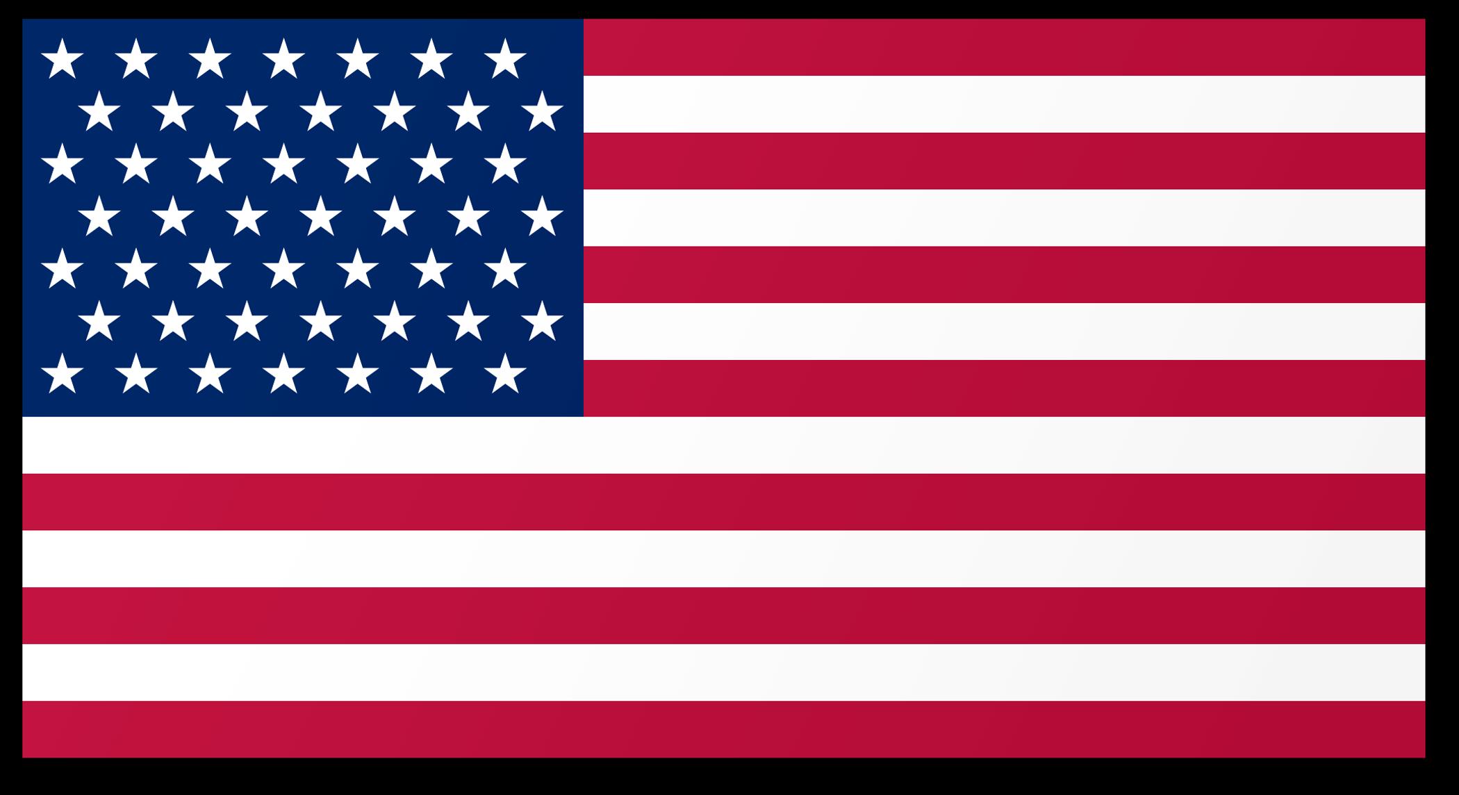 American Flag PNG Image.