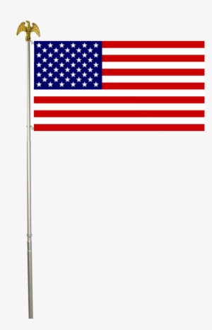 American Flag Pole PNG, Transparent American Flag Pole PNG.
