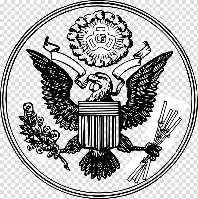 Great Seal of the United States E pluribus unum Federal.