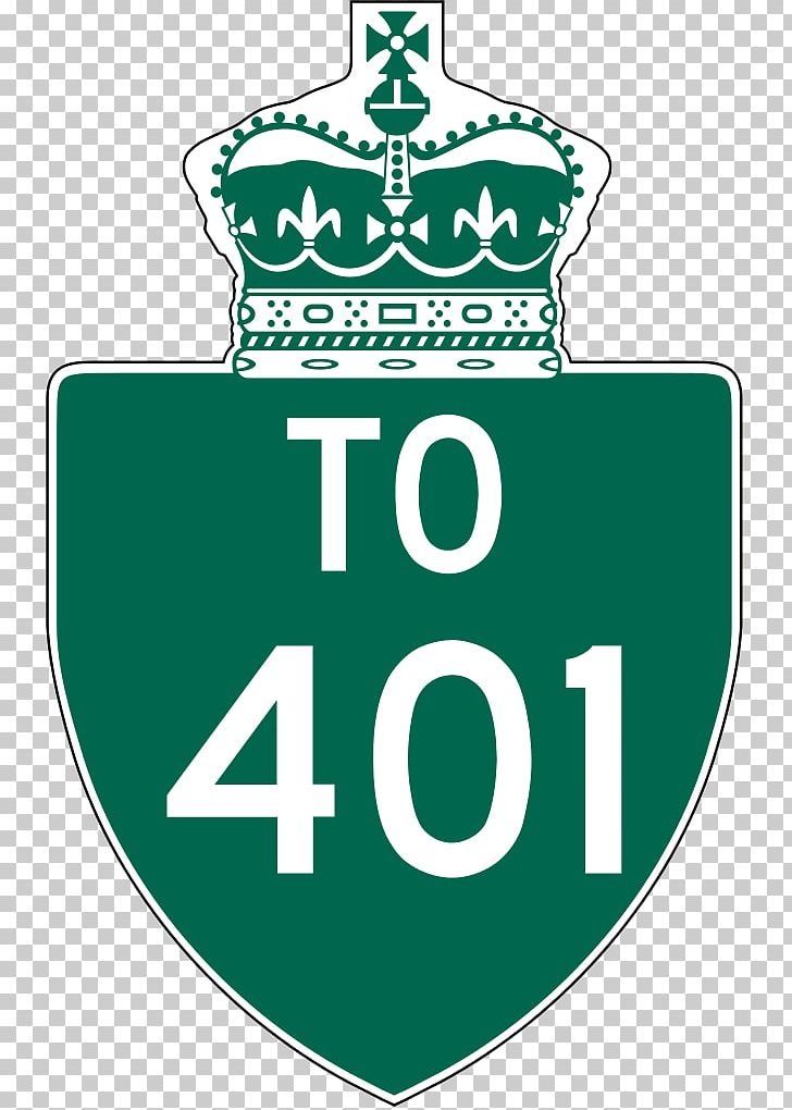 Ontario Highway 401 Reassurance Marker Windsor Wikiwand Logo.