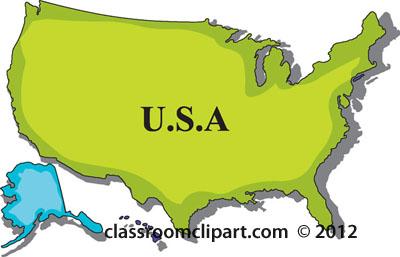 Clip Art State Maps.