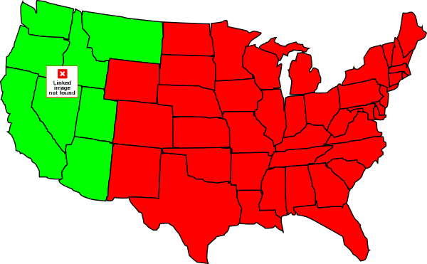 Symbol United States Map Clipart.