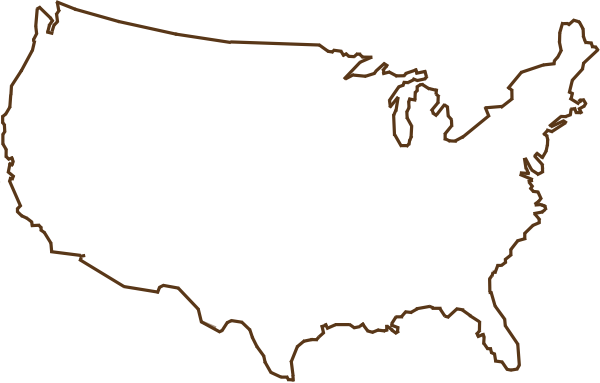 United States Map Clipart Free Download Clip Art.