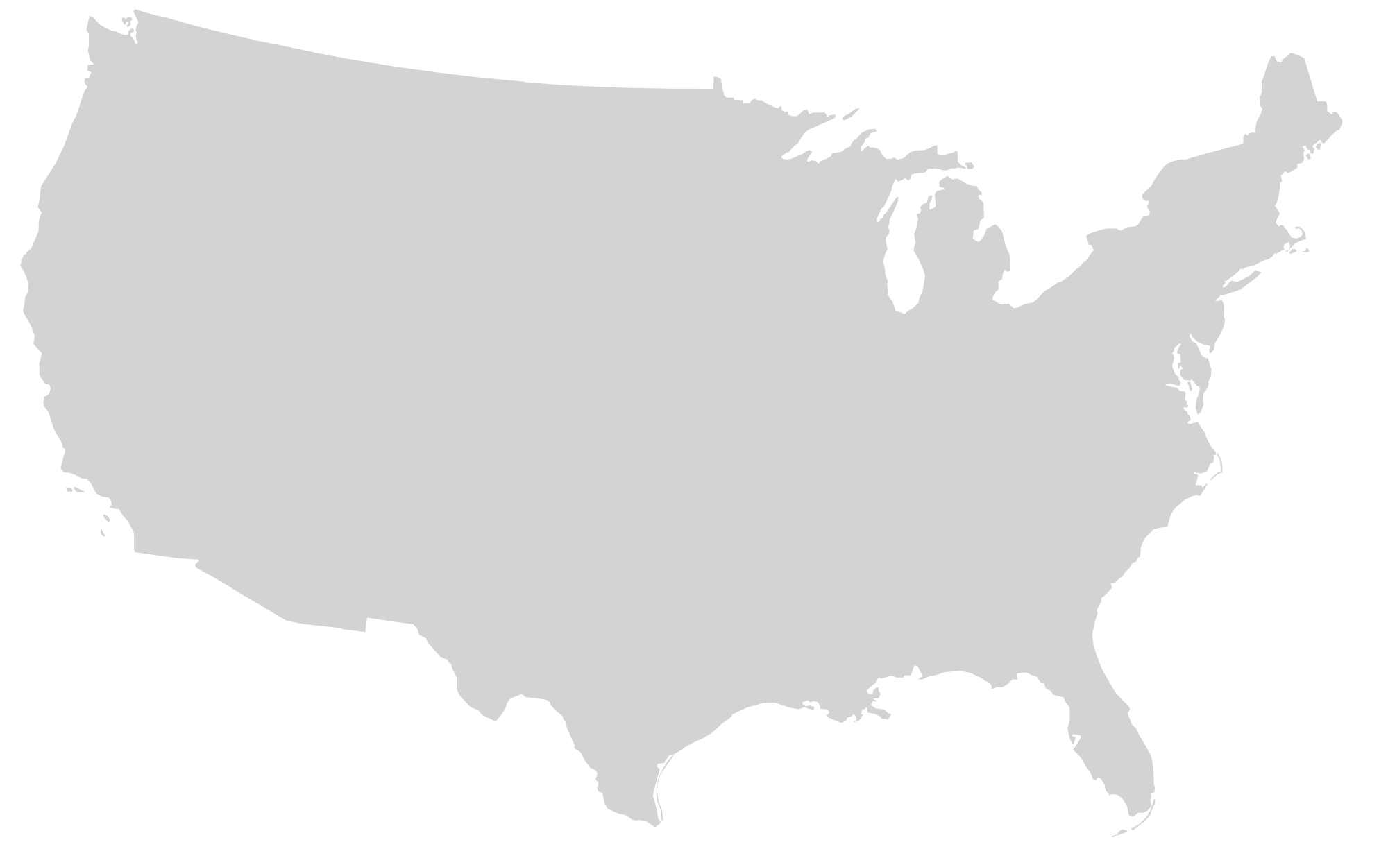 United States Clipart No Background.