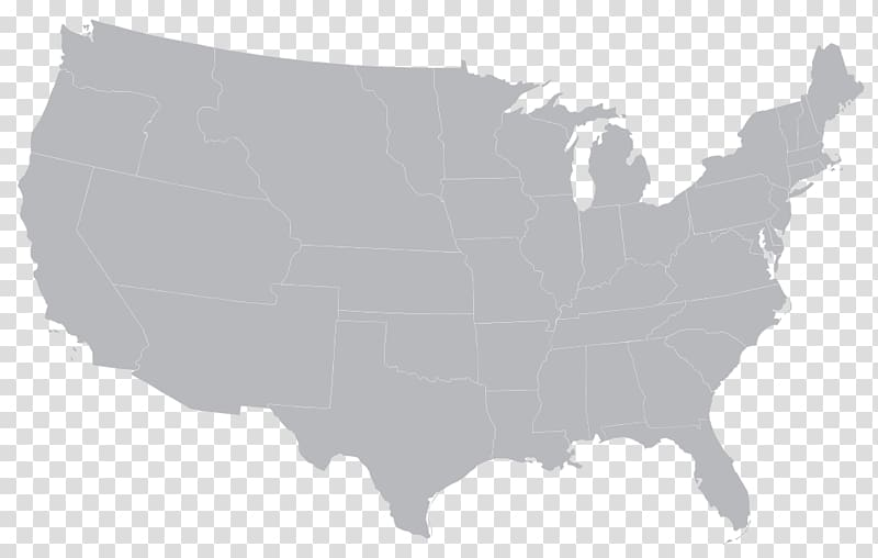United States Silhouette Map, europe and the united states.