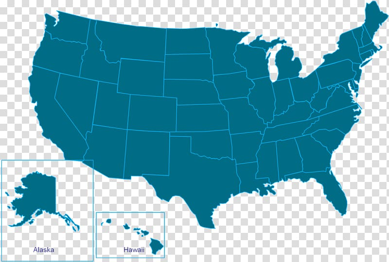 United States Map, united states transparent background PNG.