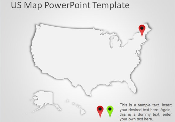 Best Editable USA Map Designs for Microsoft PowerPoint.