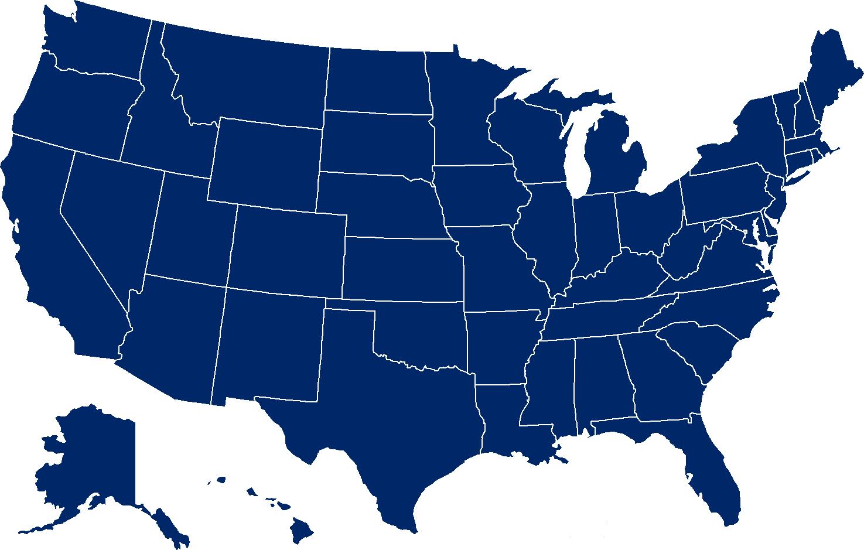 United States Map U.S. state.