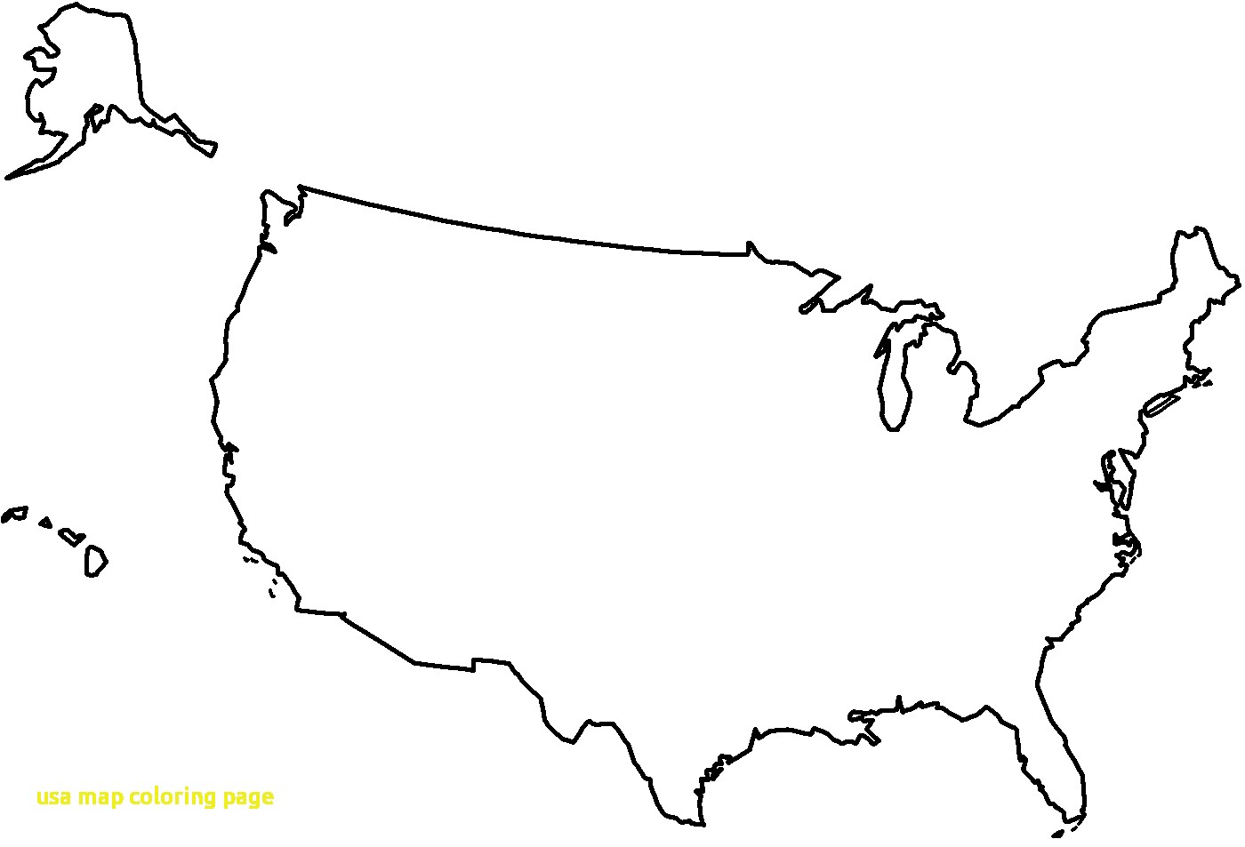 24 Distinct Us Map Outline Png.