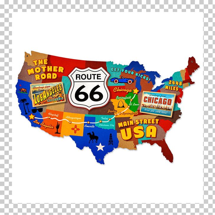 U.S. Route 66 in New Mexico Road map Road map, road PNG.