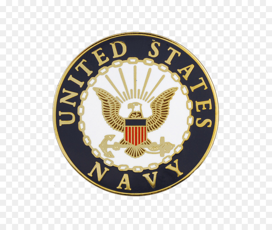 United States Navy Badge png download.