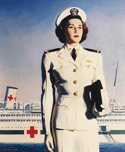 Military Nurse Clipart.