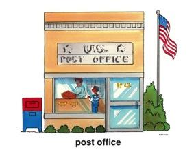 92+ Post Office Clip Art.