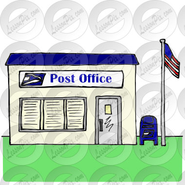Post Office Picture for Classroom / Therapy Use.
