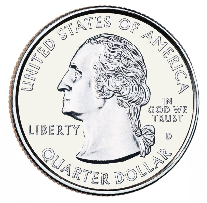 1376 Quarter free clipart.