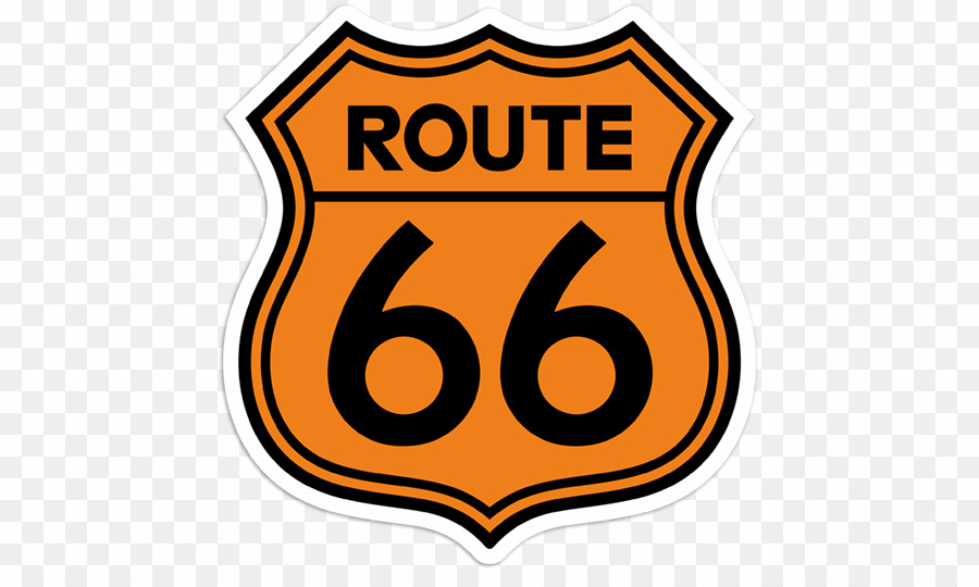 Route 66 PNG Clipart download.