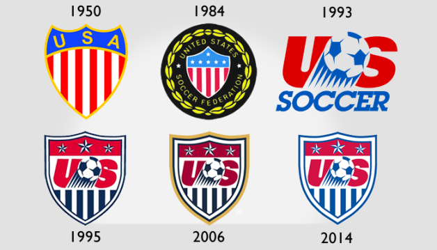US Soccer officially unveils new crest.