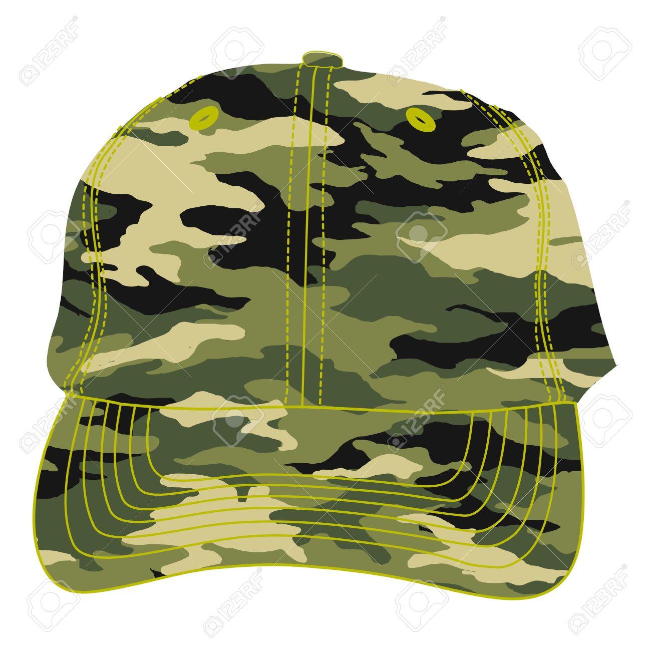 Soldier Cap Clipart.