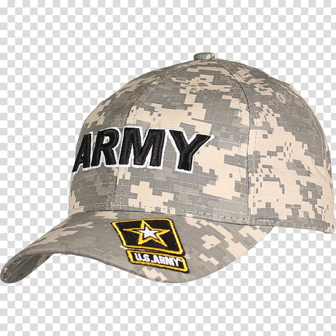 Baseball cap United States Army Military camouflage.