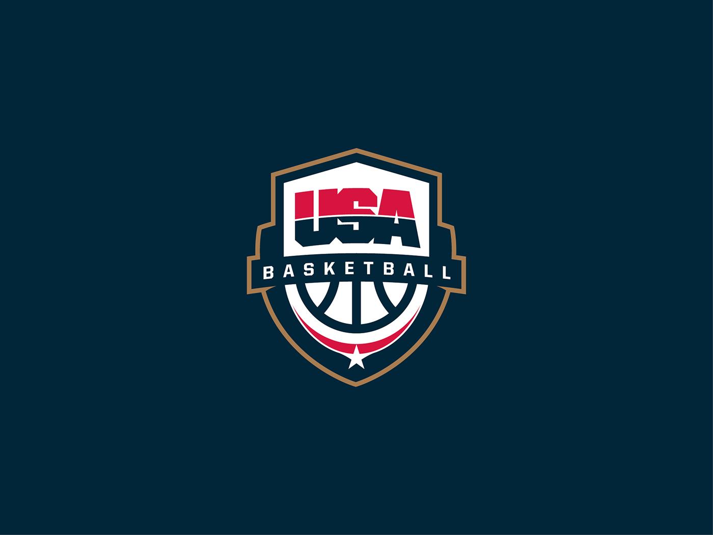 USA Basketball logo on Behance.