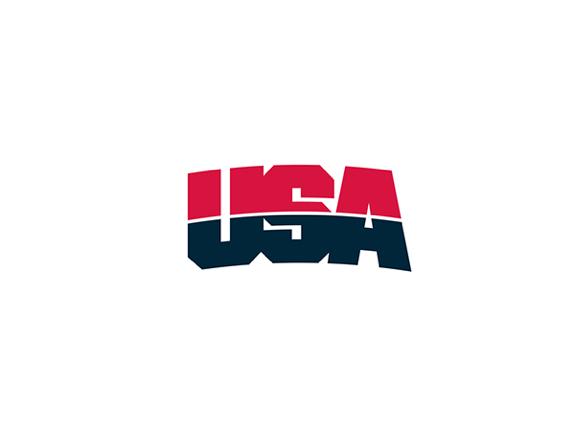 USA Basketball Logo.