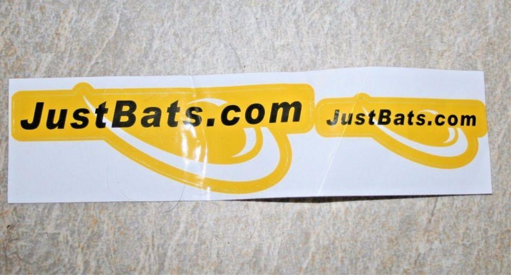 Just Bats. com Decal, Sticker, Logo,Bats, Decoration,Bat.
