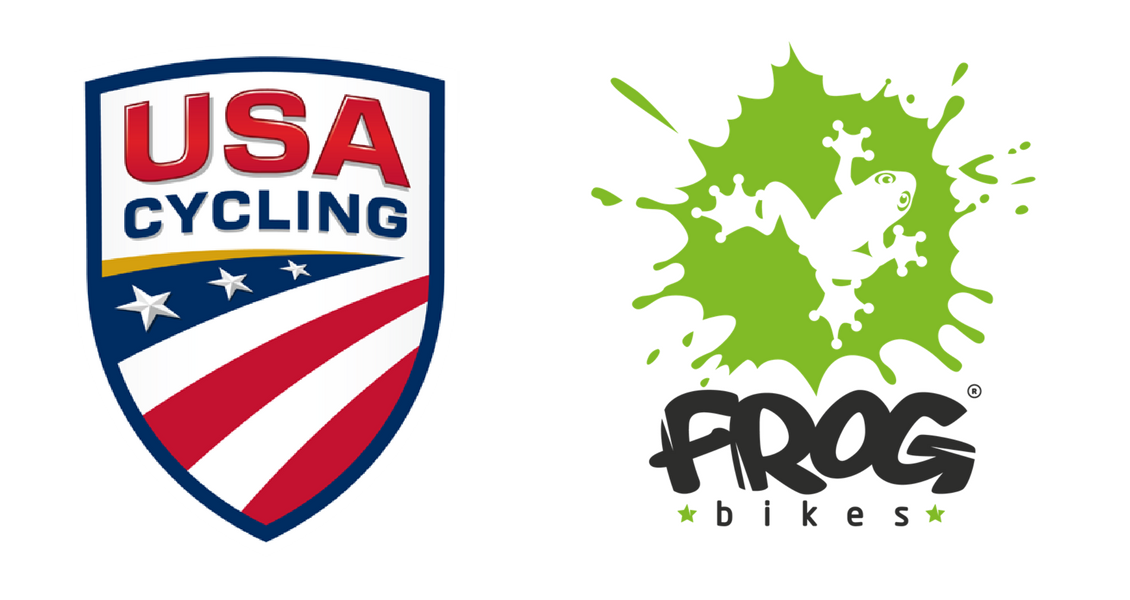 Frog Bikes Partners with USA Cycling.