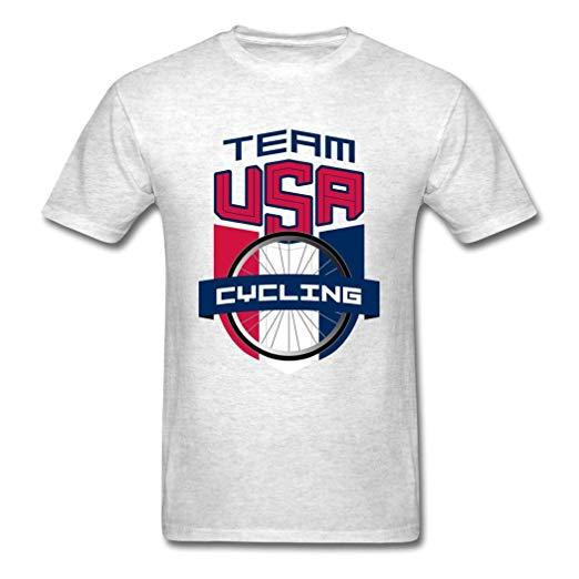 Amazon.com: CWEN Fashion Team USA Cycling 2016 T Shirts for.