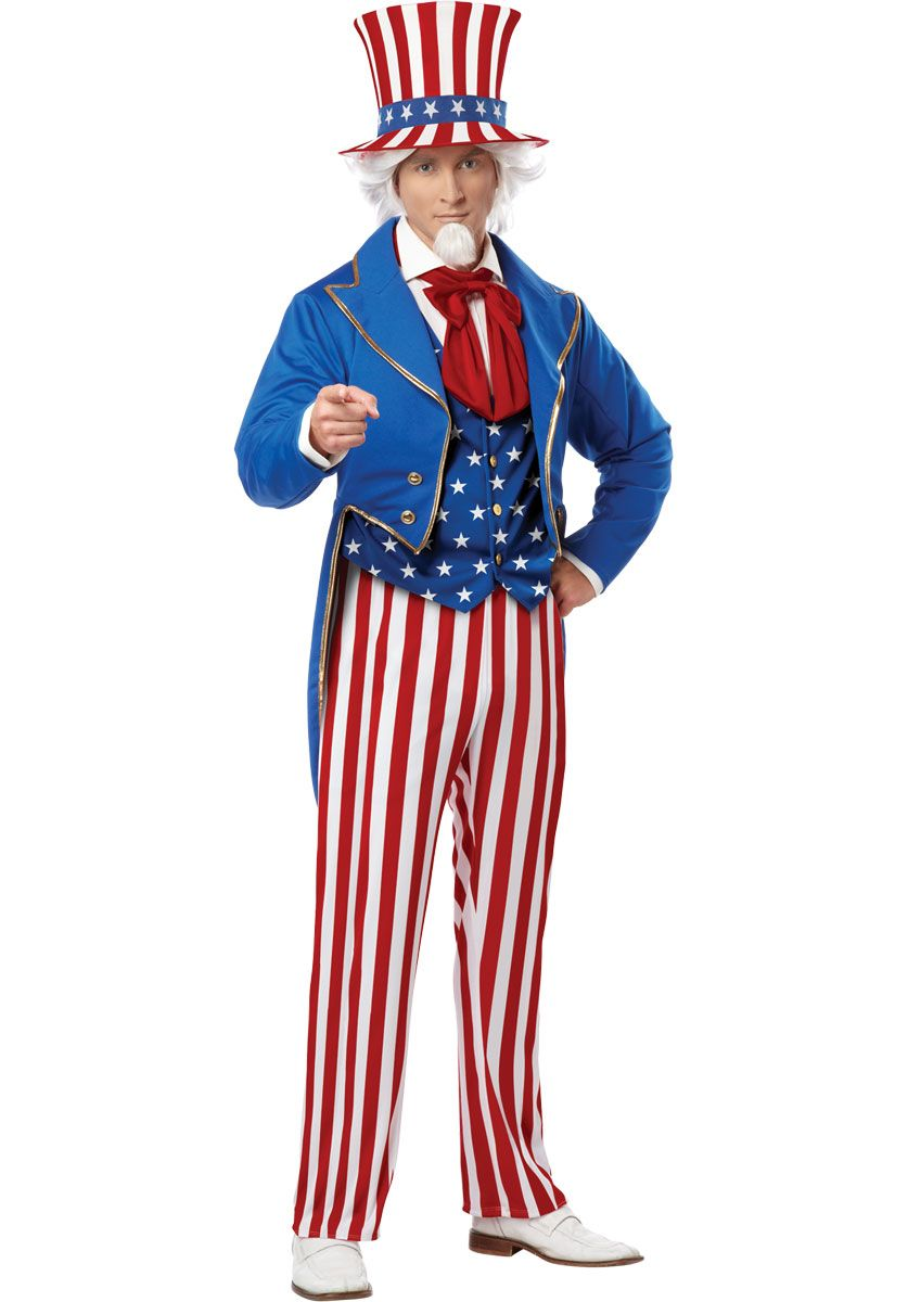 Uncle Sam Costume in 2019.