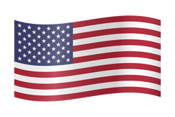 The United States flag emoji.