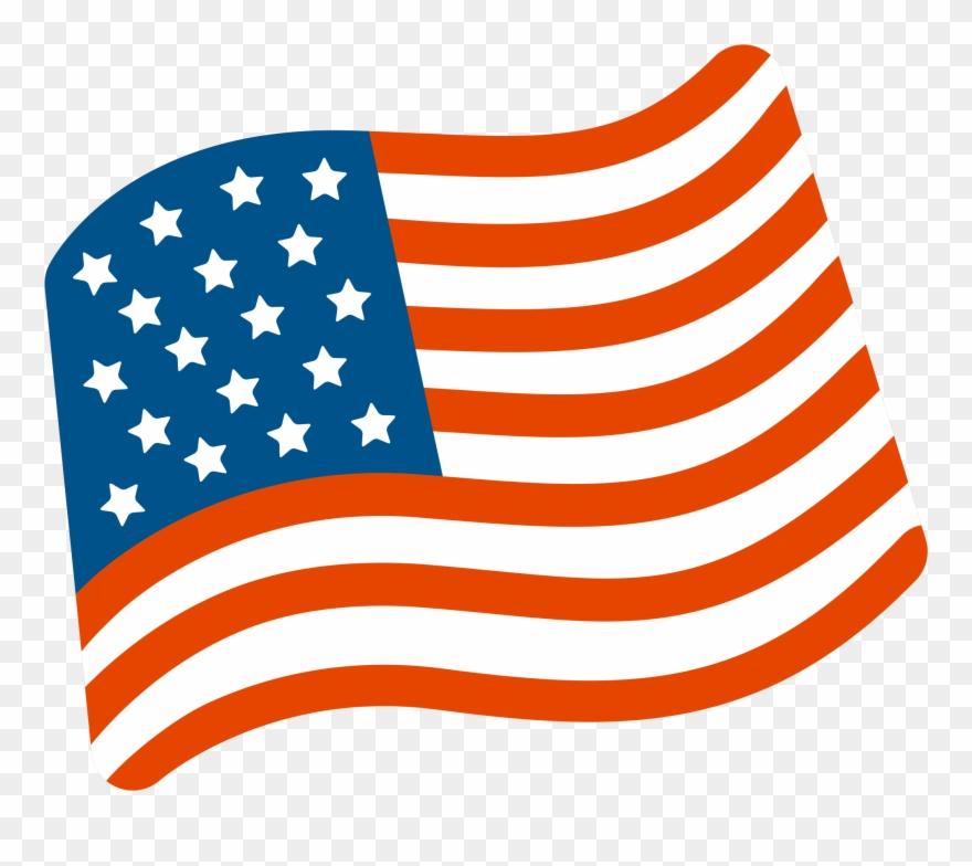 Usa Flag Waving Png.