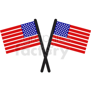 usa flags icon clipart. Royalty.