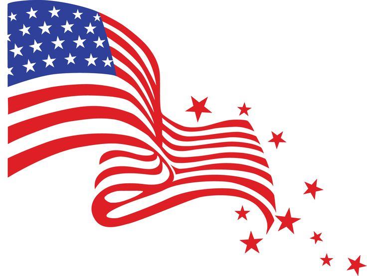 Usa Flag Inside Shamrock Clipart.