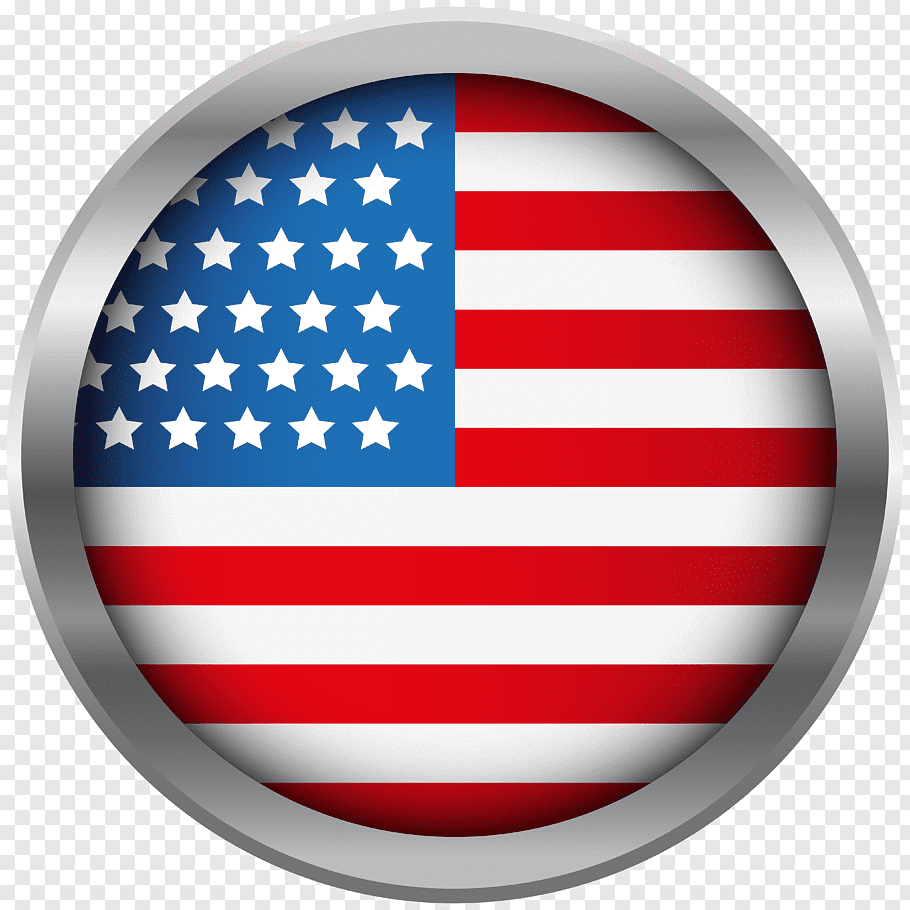USA national flag illustration, United States of America.
